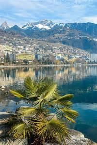 Montreux Switzerland Lake