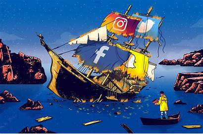 Social Sinking Ship Save Technology Privacy Spread