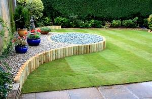 Landscape ideas for backyard simple design 24 landscaping for Easy landscape design