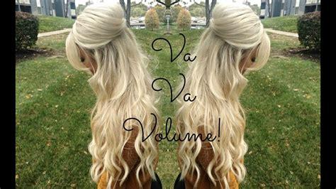 voluminous     hairstyle theblondebeautyy