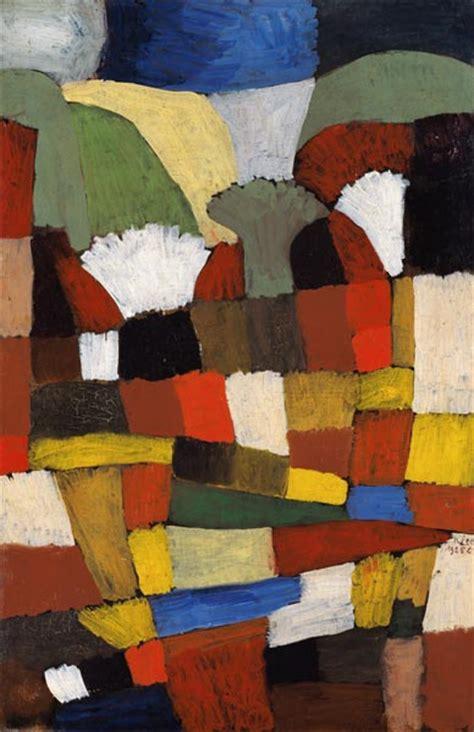Garten In Ph  Paul Klee Als Kunstdruck Oder