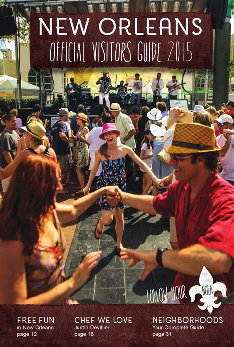 orleans convention visitors bureau issuu orleans official visitor 39 s guide 2015 july