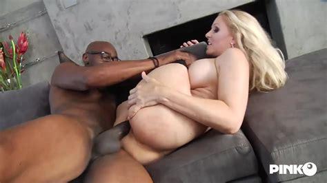 Busty Blonde Milf Julia Ann Got A Big Black Cock Inside