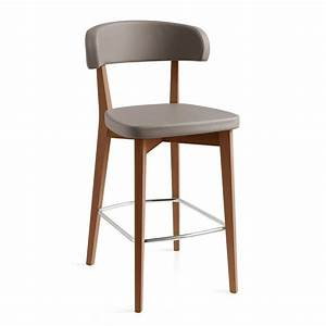 Bürostuhl Sitzhöhe 65 Cm : cb1542 siren hocker connubia calligaris aus holz bezug aus kunstleder sitzh he 65 oder 80 ~ Markanthonyermac.com Haus und Dekorationen