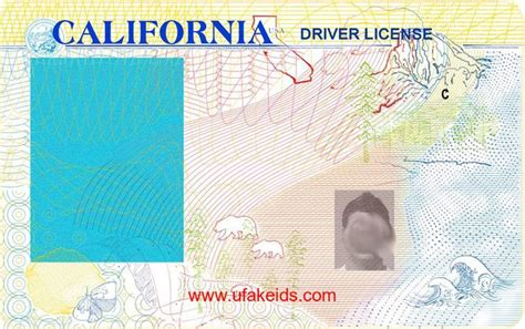 California Id Template 33 Best Driver License Templates Photoshop File Images On
