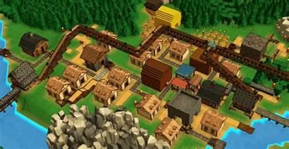 Factory Town Building Games Steam Workers Few