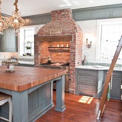 brick kitchen flooring historic moorestown nj kitchen traditional kitchen 1790