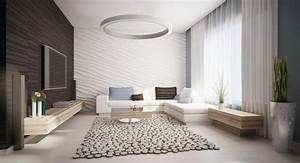 Wohnzimmer Einrichten Farben : wohnzimmer einrichten ideen in wei schwarz und grau ~ Michelbontemps.com Haus und Dekorationen