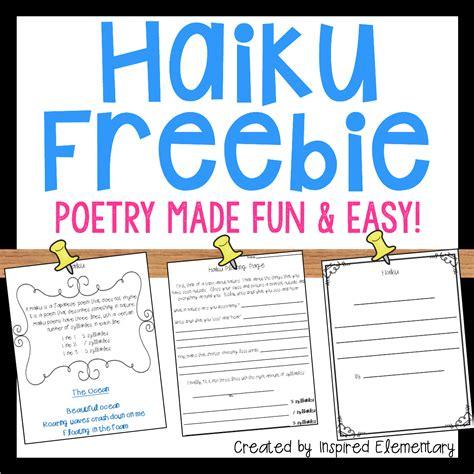 haiku poetry freebie poetry unit poetry lessons teaching poetry
