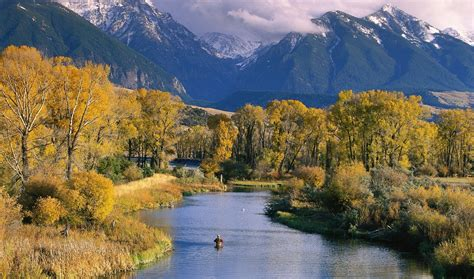 Autumn in Montana: There's breathing room - The San Diego ...