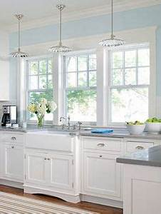 1000 ideas about light blue kitchens on pinterest blue With kitchen colors with white cabinets with james dean wall art