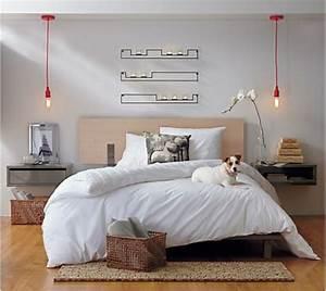 Lampe Chevet Murale : le chevet suspendu et le chevet flottant designs ~ Premium-room.com Idées de Décoration