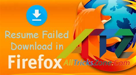 100 working resume failed downloading in mozilla