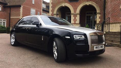 Rolls-royce Ghost Available For Wedding Car Hire In London