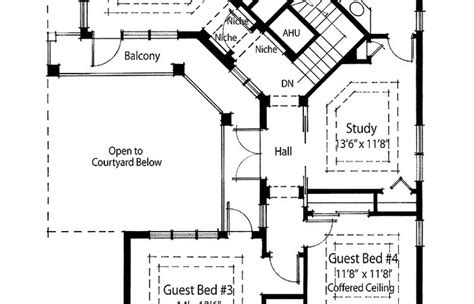 cottage mediterranean style house plans courtyard great  images home spanish italian