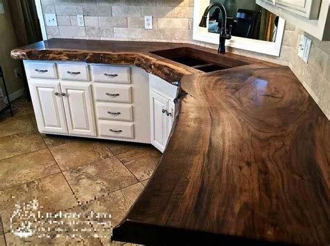 rustic kitchen islands for sale 20 ideas for installing a wooden countertop at your home