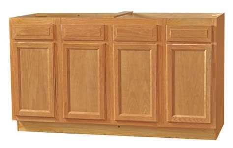 60 kitchen sink base cabinet kitchen kompact chadwood 60 quot oak sink base cabinet at menards 174 7369