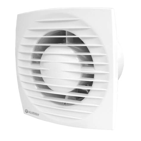 Exhaust Fans For Bathrooms Bunnings by Blauberg 100mm White Low Profile Exhaust Fan Bunnings