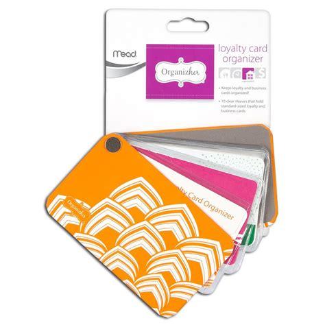 38 inch card amazon com mead organizher loyalty card organizher 20