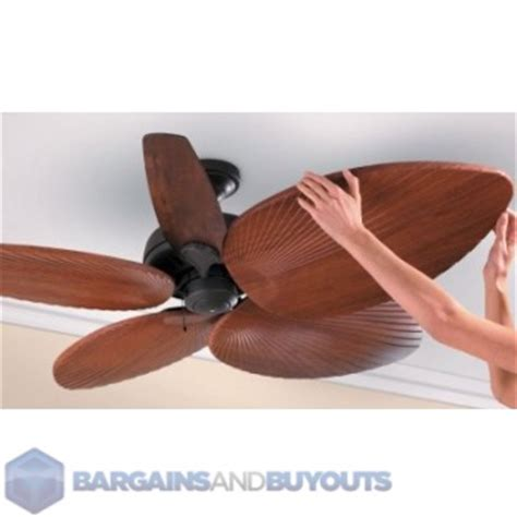 palm fan blade covers five decorative palm leaf ceiling fan blade covers