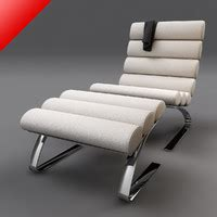 shrimp lounge chair ottoman