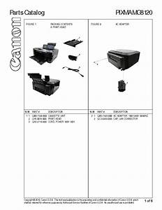 Canon Pixma Mg8120 Parts Service Manual Download