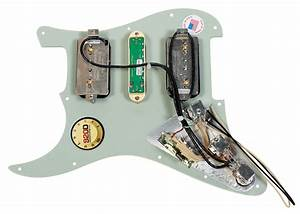 920d Custom Loaded Strat Pickguard With Seymour Duncan Hsh