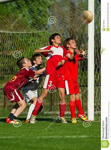 Boys Playing Soccer Stock Photo - Image: 30149610
