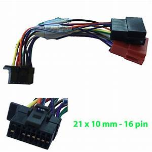 Sony Iso Wiring Harness Adaptor Loom Plug Lead Cdx