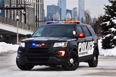 Ford, Chevy, And Dodge Square Off In Michigan Police Car