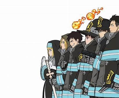 Force Fire Anime Wallpapers Iris Shouboutai Shinra