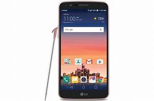 Lg Stylo 3 Smartphone With Stylus Pen For Cricket Rose