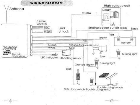 quality car alarm remotes siren shock sensor central lock kit g14 1yr warranty ebay