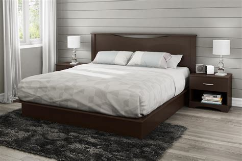 South Shore Step One Platform Bed With
