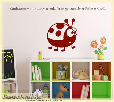 Wandtattoo Kinderzimmer Marienkäfer by Wandtattoo Wandaufkleber Marienk 228 Fer Beetle