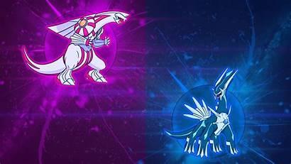 Dialga Palkia Pokemon Wallpapers Anime Clipart Legendary