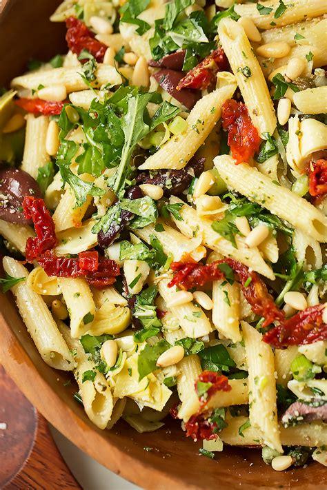 pasta salad dishes mediterranean pasta salad recipe little spice jar