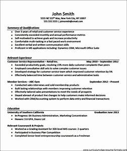 Professional resume templates for experienced free for Sample resume for experienced marketing professional