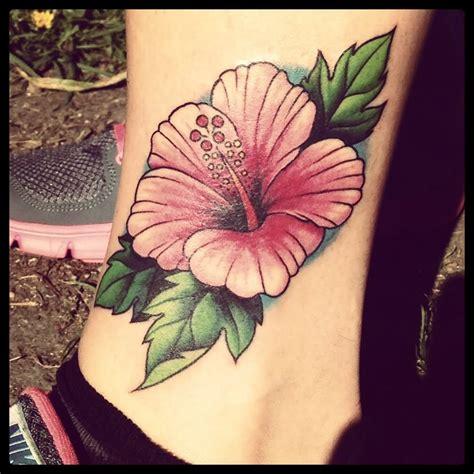 hibiscus black  white tattoos