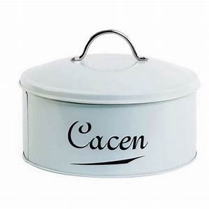 "New Design Sea Spray Blue Enamel ""Cacen"" Cake Tin"