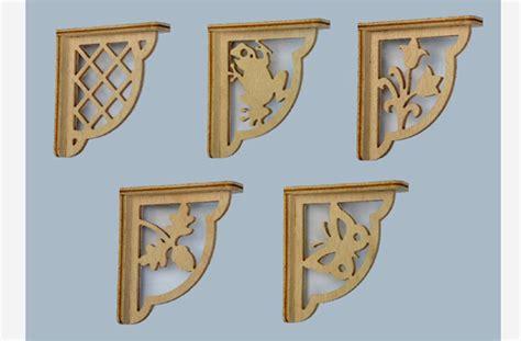 wood work shelf bracket patterns  plans