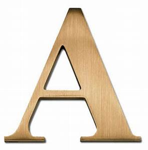 6 inch times bold cast metal aluminum bronze letter number With 6 inch metal letters