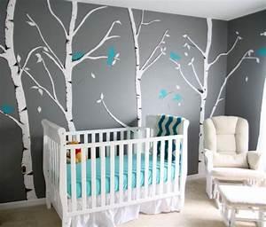 bleu turquoise et gris en 30 idees de peinture et decoration With toute les couleurs de peinture 12 chambre bebe bleue aqua