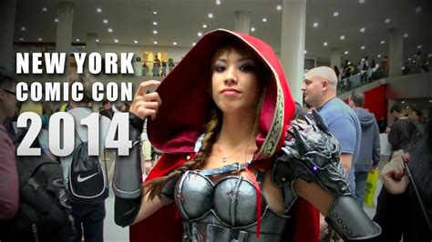 New York Comic Con 2014 Cosplay And Overview Youtube