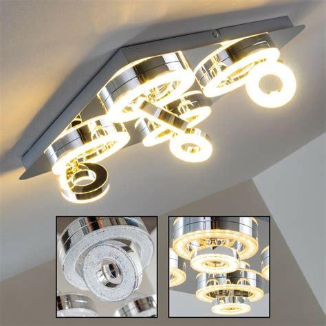 led deckenleuchte flur led deckenleuchte design flur strahler wohn zimmer leuchte decken len drehbar ebay