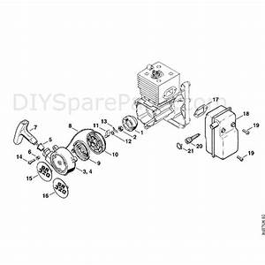 Stihl Br 400 Backpack Blower  Br 400  Parts Diagram  B