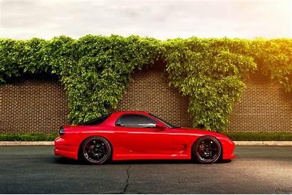 Rx7 Mazda Rx Fd Road Wallpapers Bushes
