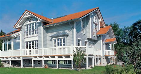 New England Style Home American Dream Baufritzcom