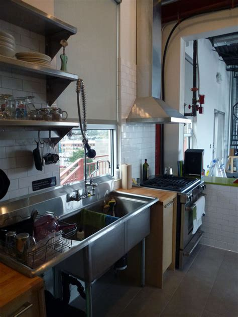denver loft kitchen eclectic kitchen denver