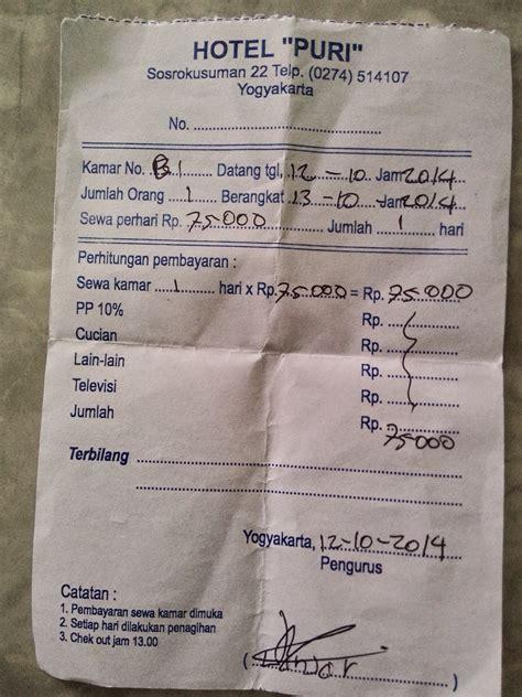 kotak surat afnan hotel murah  yogyakarta khusus wisata